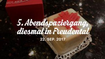 20170922_5er Abendspaziergang in Freudental